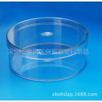 广东厂家热销蛋卷盒 塑料盒 PET盒480ml食品透明大口盒子包装 批
