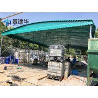 济南市中区推拉雨蓬手动厂家 遮阳挡雨蓬伸缩户外布价格低