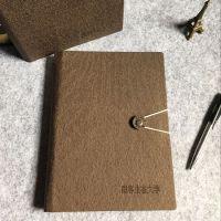 2018高端商务A5活页笔记本 真皮商务礼品套装 会议记录本定制LOGO