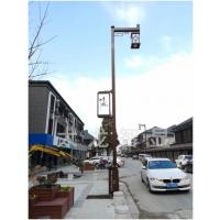 LED灯杆屏要做到抗风多少级?防水多少级?