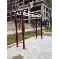 厂家直销公园小区休闲锻炼健身器材天梯实拍工程案例图片