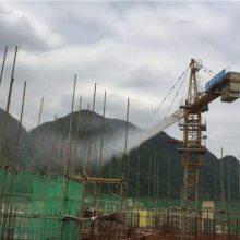塔吊喷淋降尘系统方案-圣仕达-洛川塔吊喷淋降尘系统