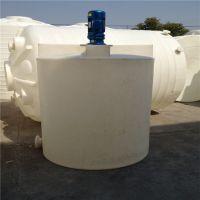 2吨带计量泵搅拌桶 加厚耐磨损PE加药箱
