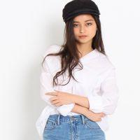 出口日本订单春夏有制冷感的特殊材质衬衣多色入