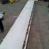 绿色光滑带运输机防油耐腐 食品包装输送机锦州