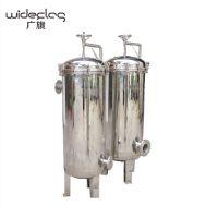 广旗供应 不锈钢袋式过滤器 高效拦截工业柴油悬浮颗粒杂质过滤器