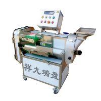 果蔬切菜机多功能 大型双头方便拆卸清洗切菜机 全自动切菜机设备