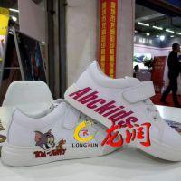 3D鞋面图案LOGO彩色打印机成品鞋子高喷设uv打印设备