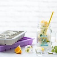 宝宝婴儿辅食盒带盖铂金硅胶冰格家用创意做大冰块的冷冻制冰模具