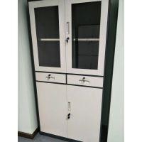 重庆文件柜 办公柜 现代 钢制铁皮柜 资料柜档案柜储物柜 带抽屉文件柜