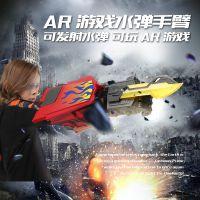 厂家直销擎天柱机械手臂水弹枪玩具可电动连发水弹玩具枪有AR版本