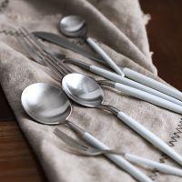 西餐刀叉套装家用全套304不锈钢勺子三件套西式个性餐刀牛排餐具