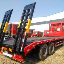 150挖机拖车东风多利卡平板运输车拖120挖机