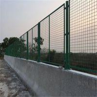 港口安全防护栏 过街天桥防护网 建筑施工浸塑围栏