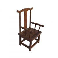仿古精品店橱窗陈列摆放道具鸡翅木小椅子摆件装饰