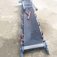 [都用]上海市粮食输送机 V型槽沙子皮带机 尿素化肥装卸车输送机
