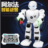儿童智能遥控互动机器人模型可编程跳舞阿尔法战警男孩玩具礼物