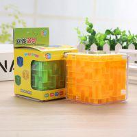 新款3D透明益智迷宫旋转魔方六面可出儿童益智玩具厂家直销