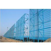 专业生产双峰防风网 挡风墙加工中心