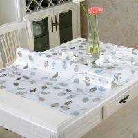 BRS透明磨砂加厚PVC软质玻璃水晶餐桌垫胶垫桌面保护垫防水桌布桌