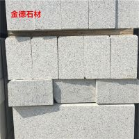 供应山东灰色花岗岩路缘石150*350*1000价格