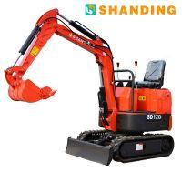厂家直销小挖机 工地农业专用小型挖掘机