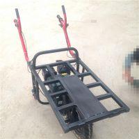 大载重的单轮车什么材质 德阳果园下山输送车 奔力JG-1