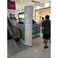 商业地产广场标识导向系统指示牌吊牌平面图设计制作安装厂家引领标识