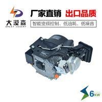 山东电动轿车增程器发电机大漠森厂家直销6KW72V变频27极纯铜电芯