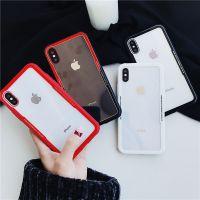 质感玻璃港风设计苹果6手机壳iPhoneX/7plus/8创意个性情侣男女款