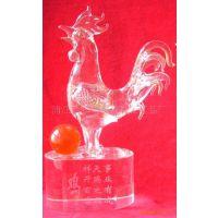 批发供应水晶鸡  水晶动物  水晶十二生肖动物 水晶拉丝动物