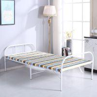 简易床单人板式床折叠床木板床收缩床 家用单人床隐形床午休床