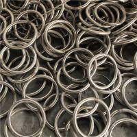 金聚进 不锈钢圆环 捕鱼铁环铁圈 无缝焊接实心吊环 O型环五金钢环圆圈
