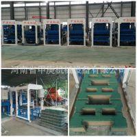 常年出口连锁工字护坡砖机 预制生态彩色渗水砖机 混凝土砌块砖机
