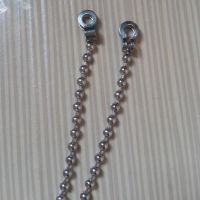 厂家直销青古铜不锈钢珠链 优质彩色珠链 挂镀镀镍1.6mm珠链