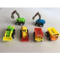 儿童益智玩具  回力仿真工程车 汽车模型  奇趣玩具扭蛋玩具