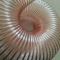 pu钢丝软管供应湖北黄石钢丝伸缩除尘波纹管的特性和优点有哪些(鹏跃塑胶软管)