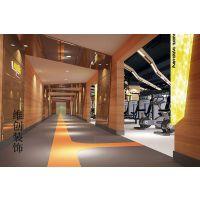 合肥健身房装修,健身房设计,增强健身气氛,提高整个健身房的视野效果
