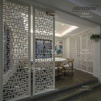 江苏铝合金窗花 仿木纹复古铝合金 窗花厂家价格