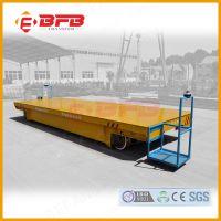 车间高频率运输10T电动平车制造 工业轨道平车设计图纸设备测试车