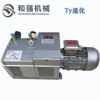 出售木工雕刻机用真空泵通优ZBW100E无油压力真空压力吸气泵100立方5.5KW