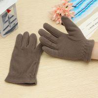 厂家直销时尚保暖儿童手套 大童五指书套环保软软舒适  可定做