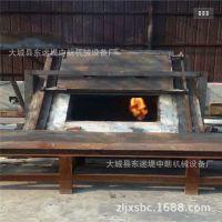 废铝炉压铸退火淬火融化设备生物质熔铝炉 800kg锯末颗粒熔铝炉