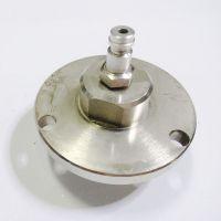 SF6气路取样接头平开LW6-110黄铜镀铬材质