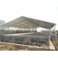 天地中篷房公司生产北京物流转运仓库篷房高强度铝合金物流园篷房