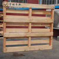 莱西厂家批发柳桉木托盘可定做二面进叉川字型