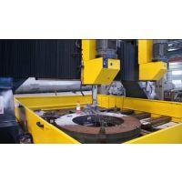 济南硕超数控DZC2525龙门移动式数控平面钻床钻孔直径90mm板材大孔径加工效率高