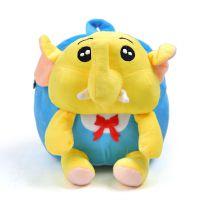婴幼儿园小书包1-3岁2儿童双肩背包女孩男宝宝小象迷你玩具包