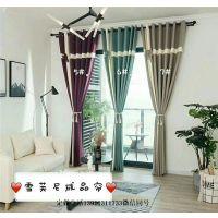 厂家安装定做办公窗帘 布艺窗帘 电动自动遥控智能窗帘批发定制