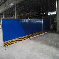 市政金属挡板施工 商场临时围挡 停车场外围挡板